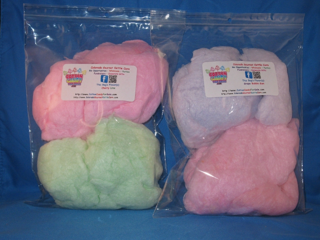 2 And 3 Oz Cotton Candy Bags