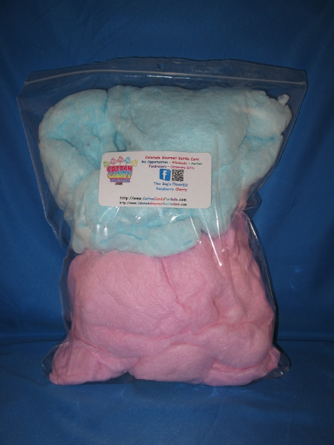 4 And 8 Oz Cotton Candy Bag